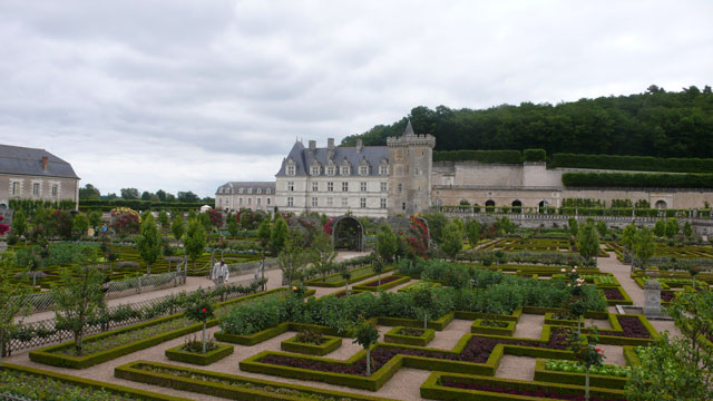 Château de Villandry and its gardens